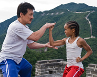 Practice For Kung Fu With Jackie Chan