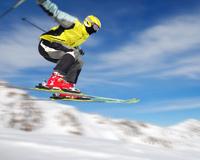 Skiator Sport sking Shko Ajrore Stunt Snow