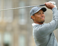 Handsome Tiger Woods