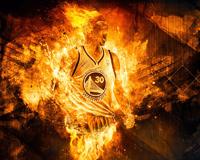 Stephen Curry Fireball