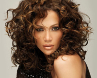 Jlo With Curly Hair