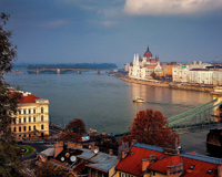 The Beautiful View From Budapest