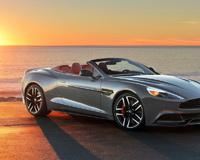 2015 Aston Martin Vanquish Volante At Sunset