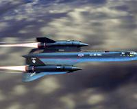 Avioni Plane SR 71 Blackbird