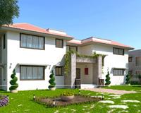 3D renderelés építészeti