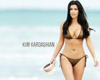 Kim Kardashian With Bikini