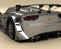 3D Modelling Racing Car