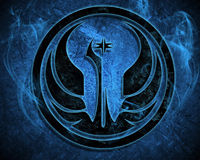 Star Wars Jedi Symbol Blue