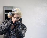 Lady Gaga On The Phone