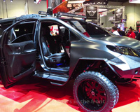 Toyota Ultimate Utility Vehicle From Sema 2015