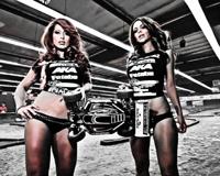 Carissa Rosario And Car Racing