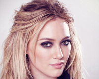Hilary Duff Face