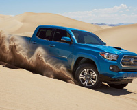 2016 Toyota Tacoma on Desert