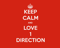 Keep Calm And Love 1 Direction