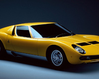 Lamborghini Miura P 400 SV Yellow