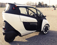 Toyota Self Balancing 3 Wheeled Car