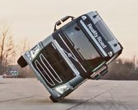 Volvo Truck Stunt