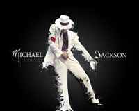The King Of Pop Michael Jackson With White Suit