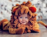 Bebek ile Aslan Kostüm