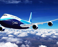 Boeing 747 Aircraft On Air