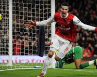 Robin Van Persie From Arsenal