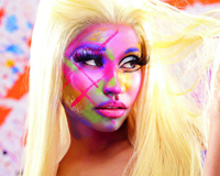 Nicki Minaj Colored Face