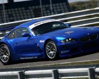 Blue Car Race Piktura