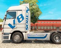 Mercedes Benz For Euro Truck Simulator