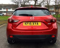 Red Mazda Mazda3 2 0