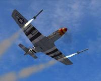 Mustang Desert Rat War Plane Aircraft P51