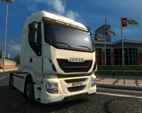 The Game Euro Truck Simulator