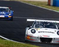 Porsche On Top In Race