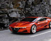 BMW M1 Homage Concept Red