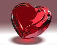 Glass Dashuria Heart