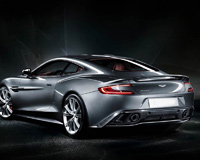 Aston Martin DB9 Silver Knight