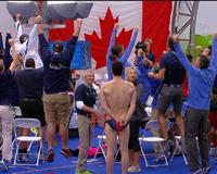 Canada Team Celebrate