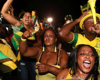 Jamaicans Celebrate The Living Legend
