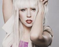 Beautiful Blonde Lady Gaga With Makeup
