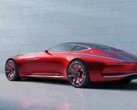 Maybach Concept Car Red