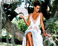 beyonce in forest