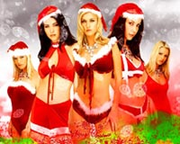 christmas sexy girls