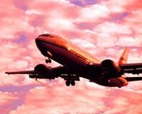 aeroplan mbi qiell
