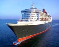 the big cruise in ocean