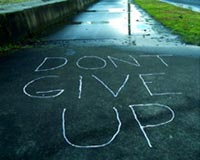 Dont give up 150