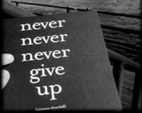 Dont give up 153