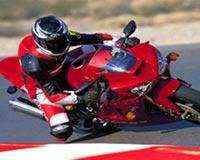 crazy motorcyclist