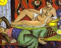 Henri Matisse odalisques