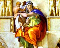 Michelangelo Buonarroti The Sibyl of Delphi