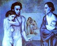 Pablo Picasso La Vie