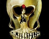 Salvador Dali Ballerina in a Deaths Head